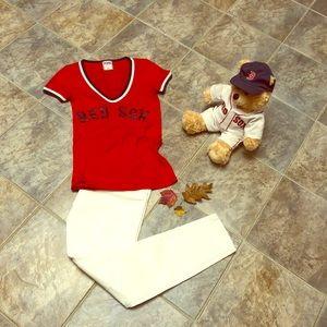 Pink Victoria's Secret Red Sox shirt
